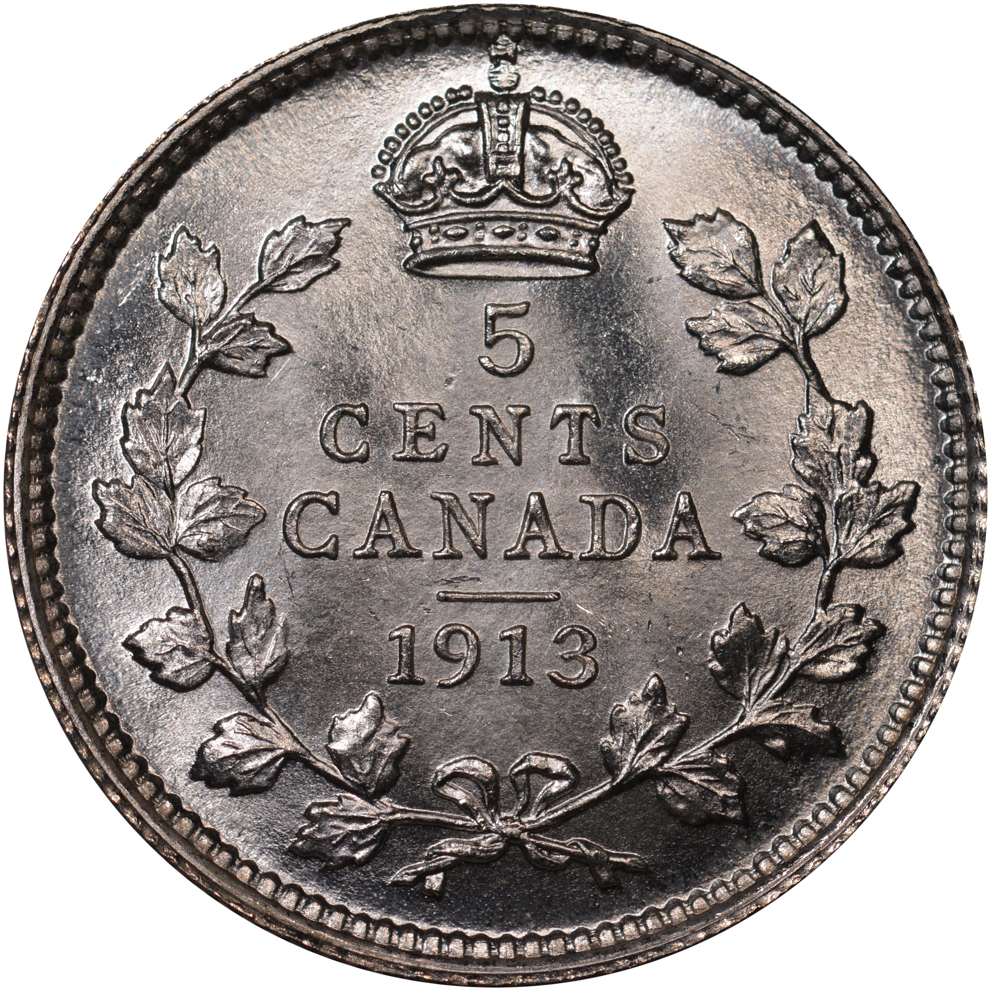 Canada 5 Cents Reverse