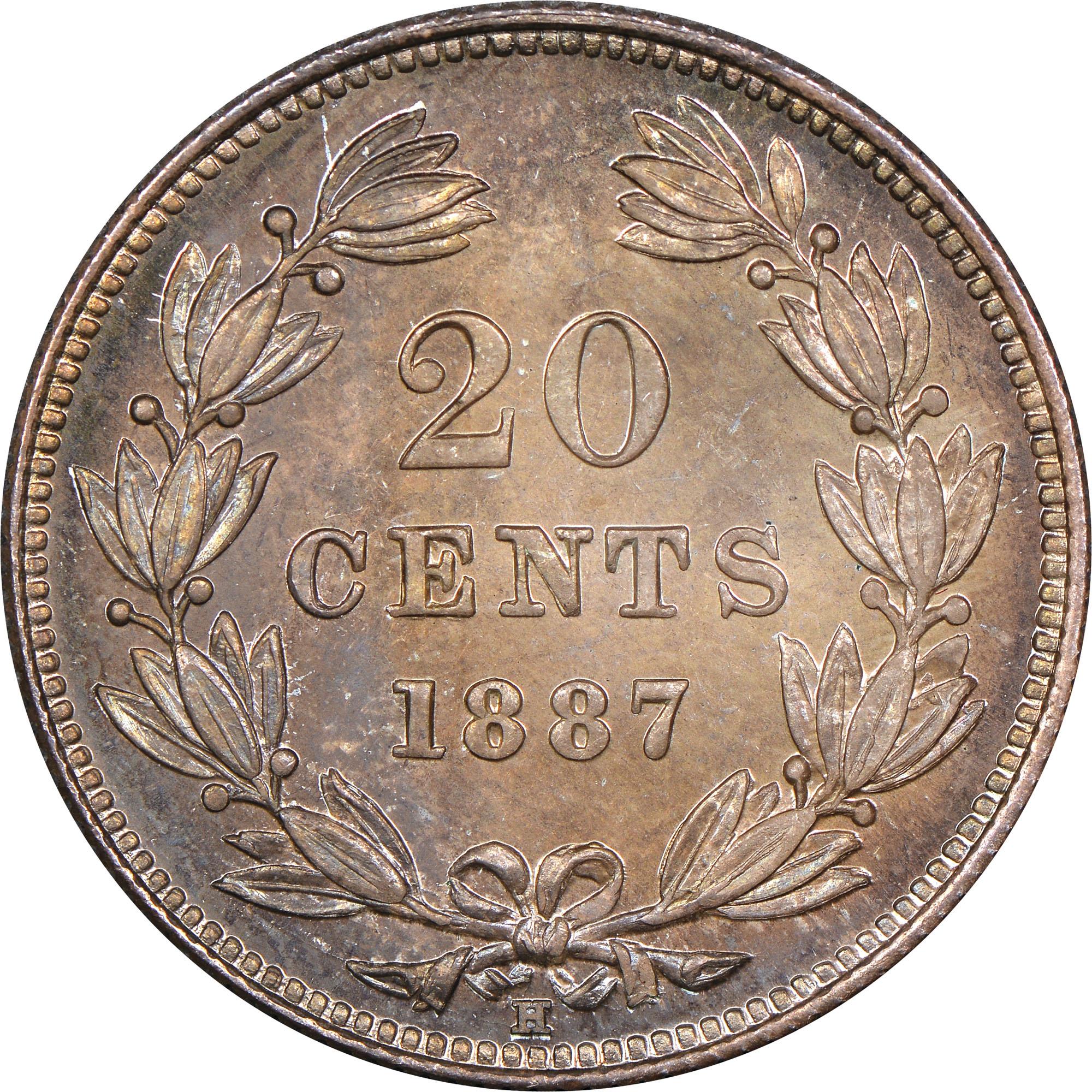 Nicaragua 20 Centavos reverse
