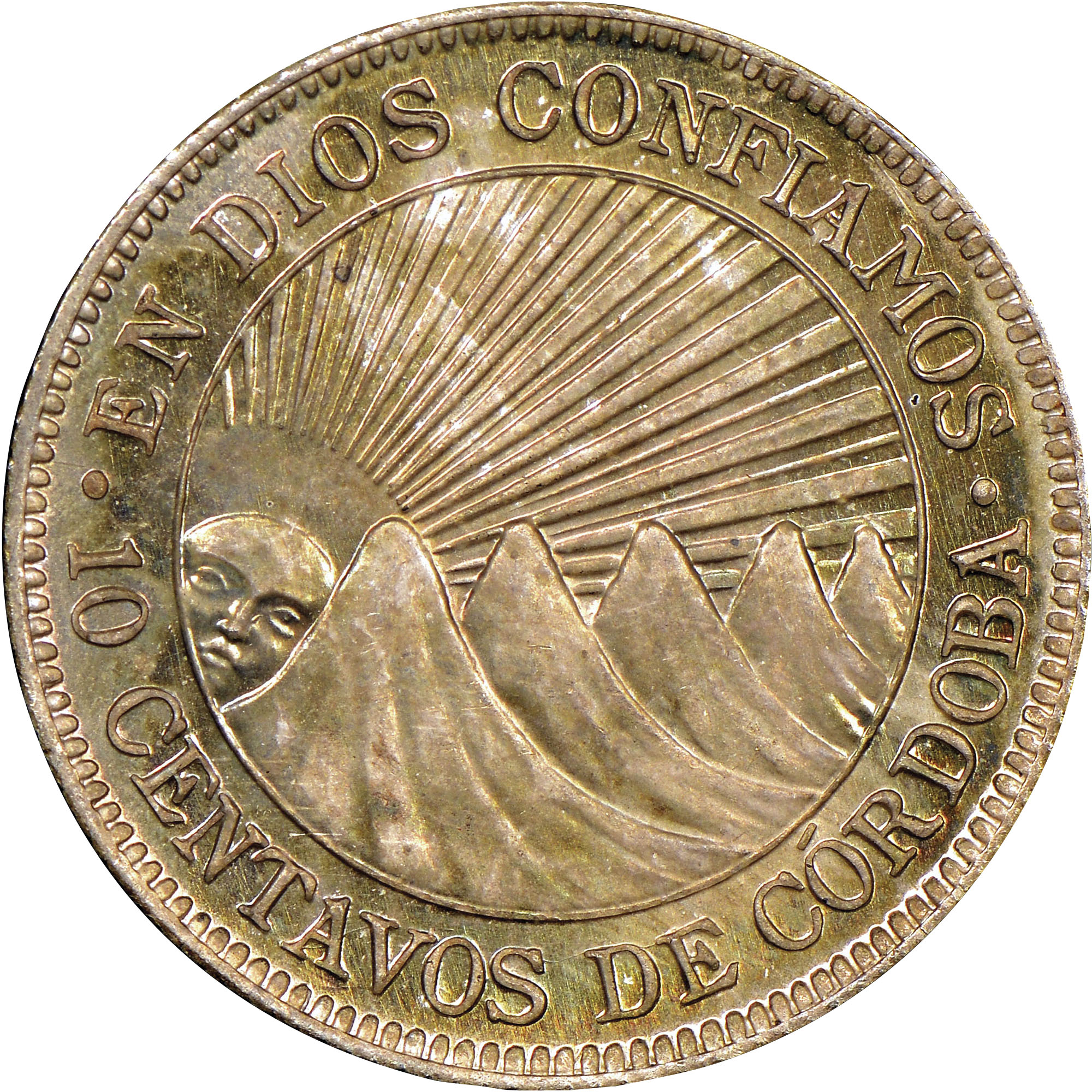 1912 1936 Nicaragua 10 Centavos Km 13 Prices Amp Values Ngc