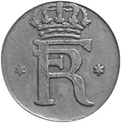 1730-1743 German States HESSE-CASSEL Heller obverse