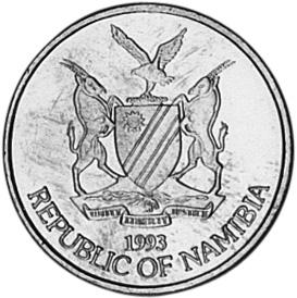 Namibia Dollar obverse