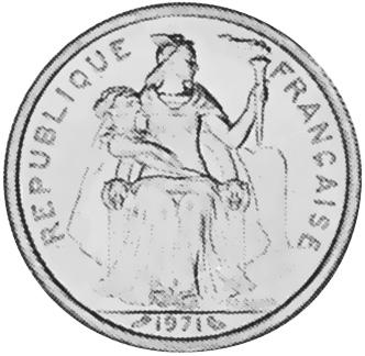 New Caledonia 2 Francs obverse