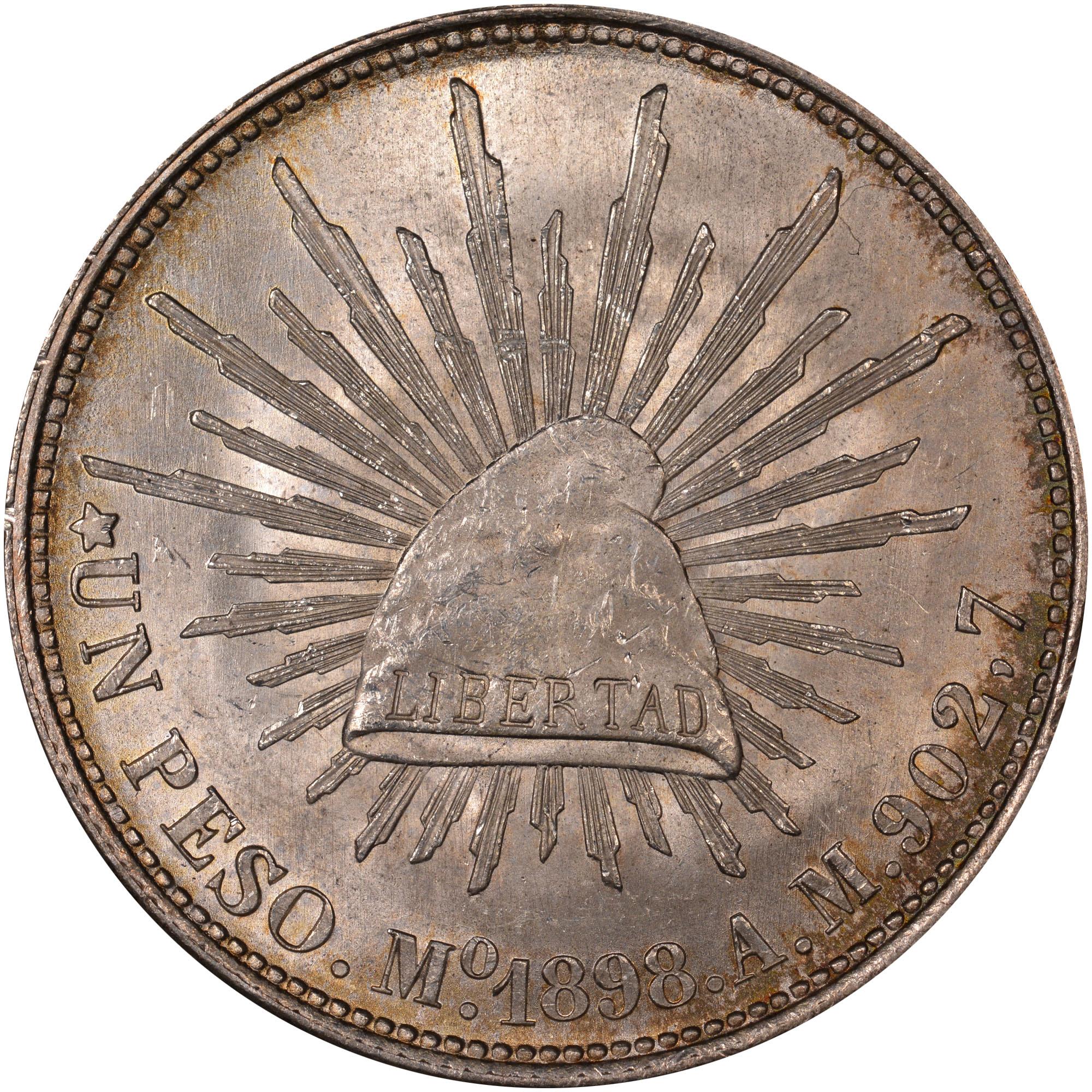 Mexico SECOND REPUBLIC Peso KM 409 2 Prices & Values | NGC