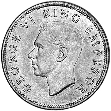 New Zealand Penny obverse