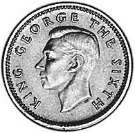 New Zealand 3 Pence obverse
