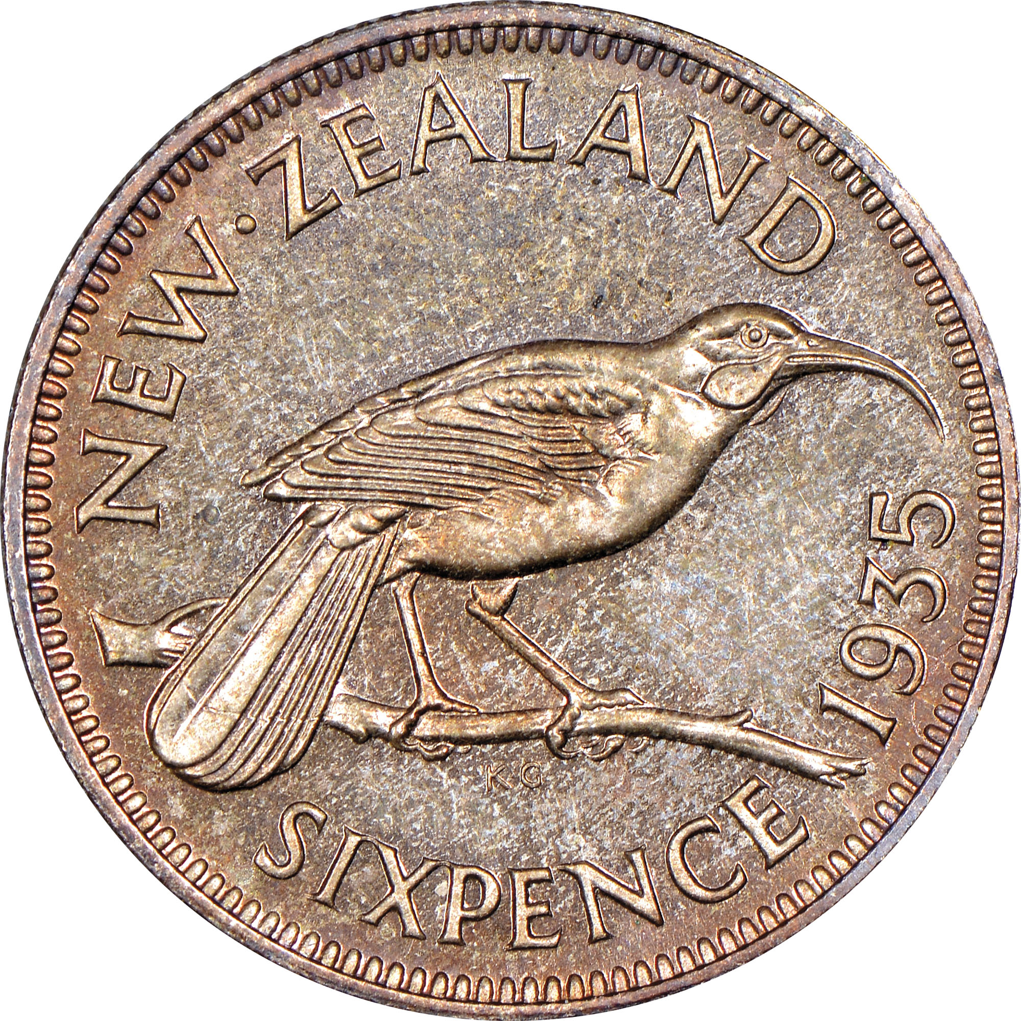 New zealand 3 pence km 1 prices & values | ngc.