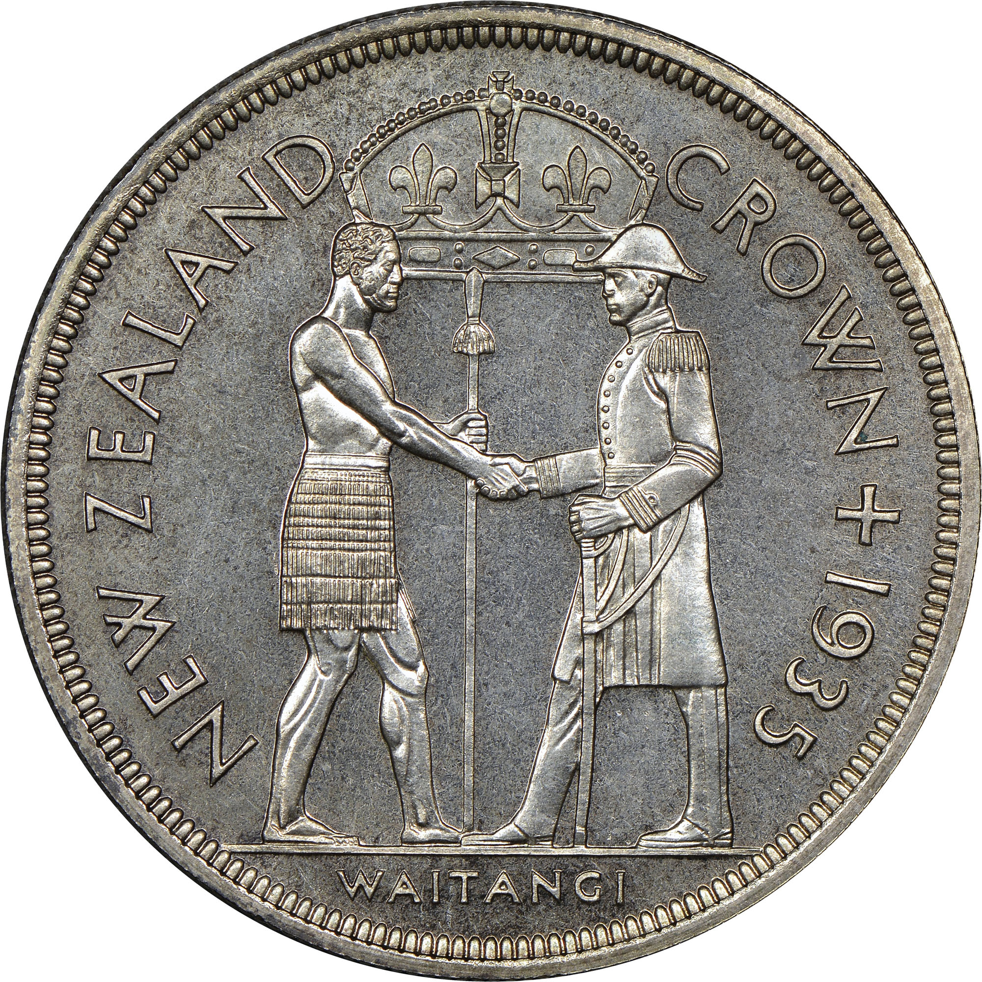 New Zealand Crown reverse