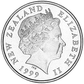 New Zealand 10 Cents obverse
