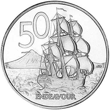 New Zealand 50 Cents Km 119 Prices Values