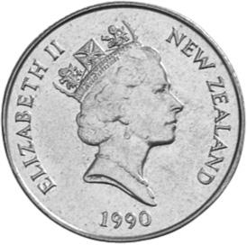 New Zealand Dollar obverse