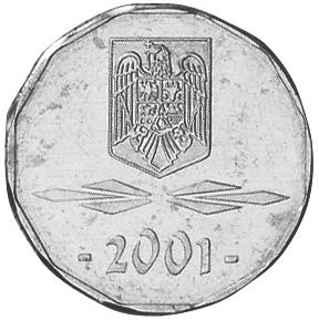 2001-2006 Romania 5000 Lei reverse