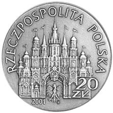 Poland 20 ZÅ'otych obverse