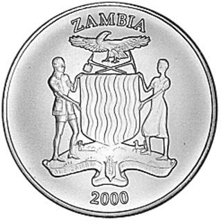 Zambia 10 Kwacha obverse