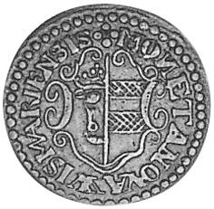 German States WISMAR 3 Pfennig obverse