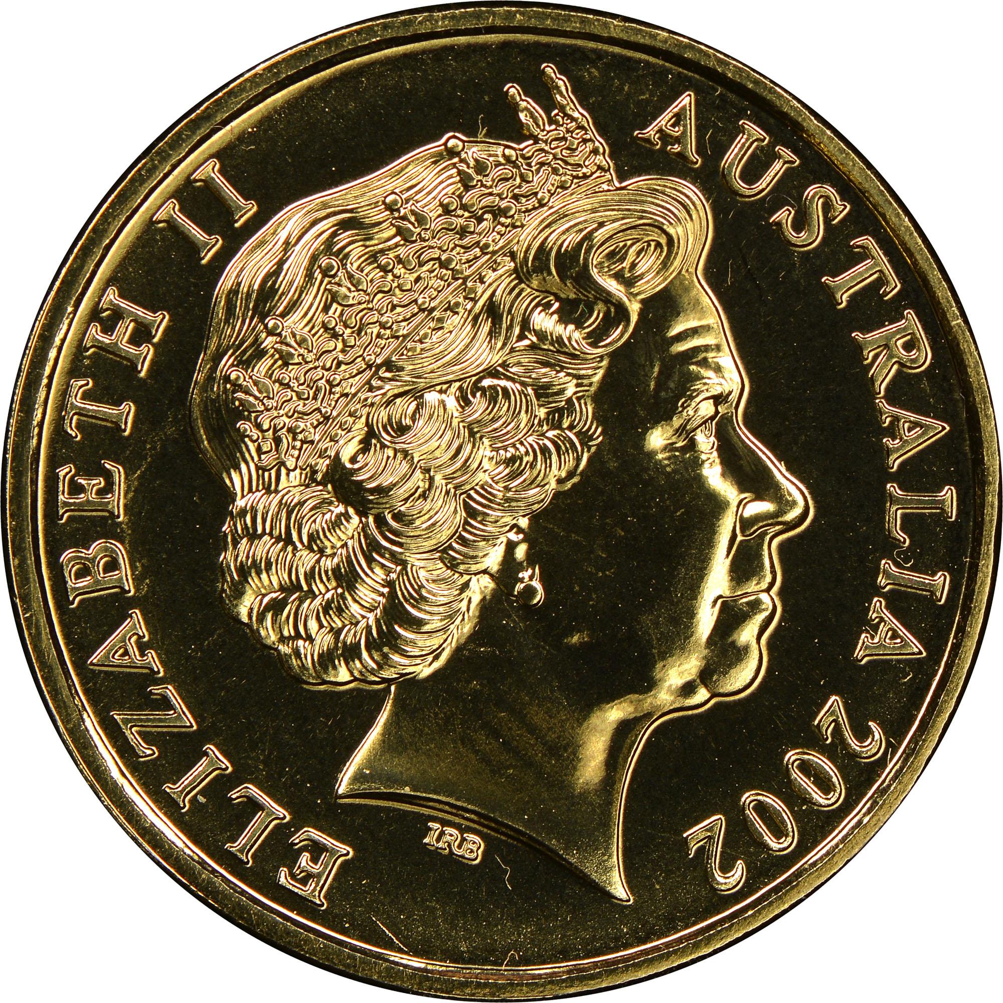 Australia Dollar obverse