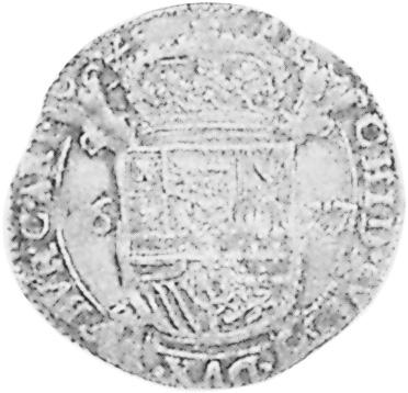 1623-1635 Spanish Netherlands ARTOIS Escalin reverse