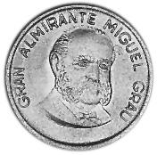 1985-1987 Peru 20 Centimos obverse