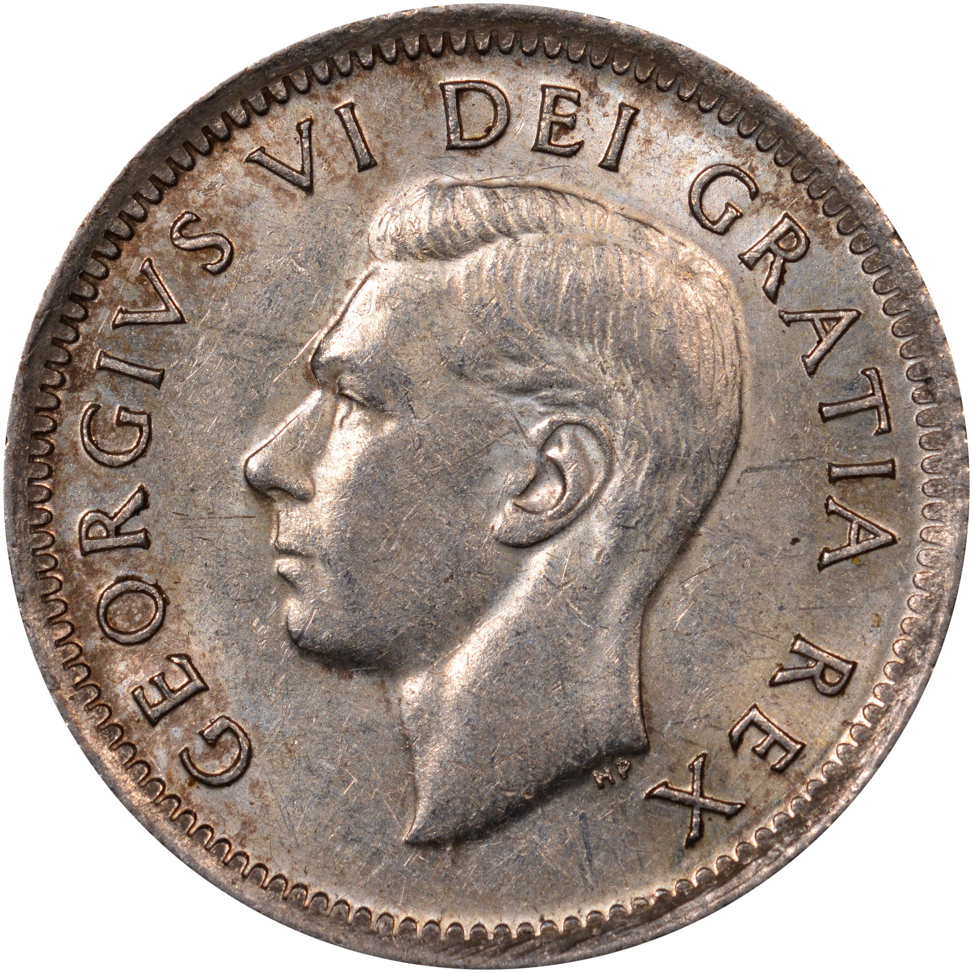 Coin Chart: 1948-1952 Canada 10 Cents KM 43 Prices & Values