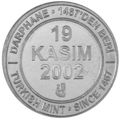 Turkey 1000000 Lira reverse