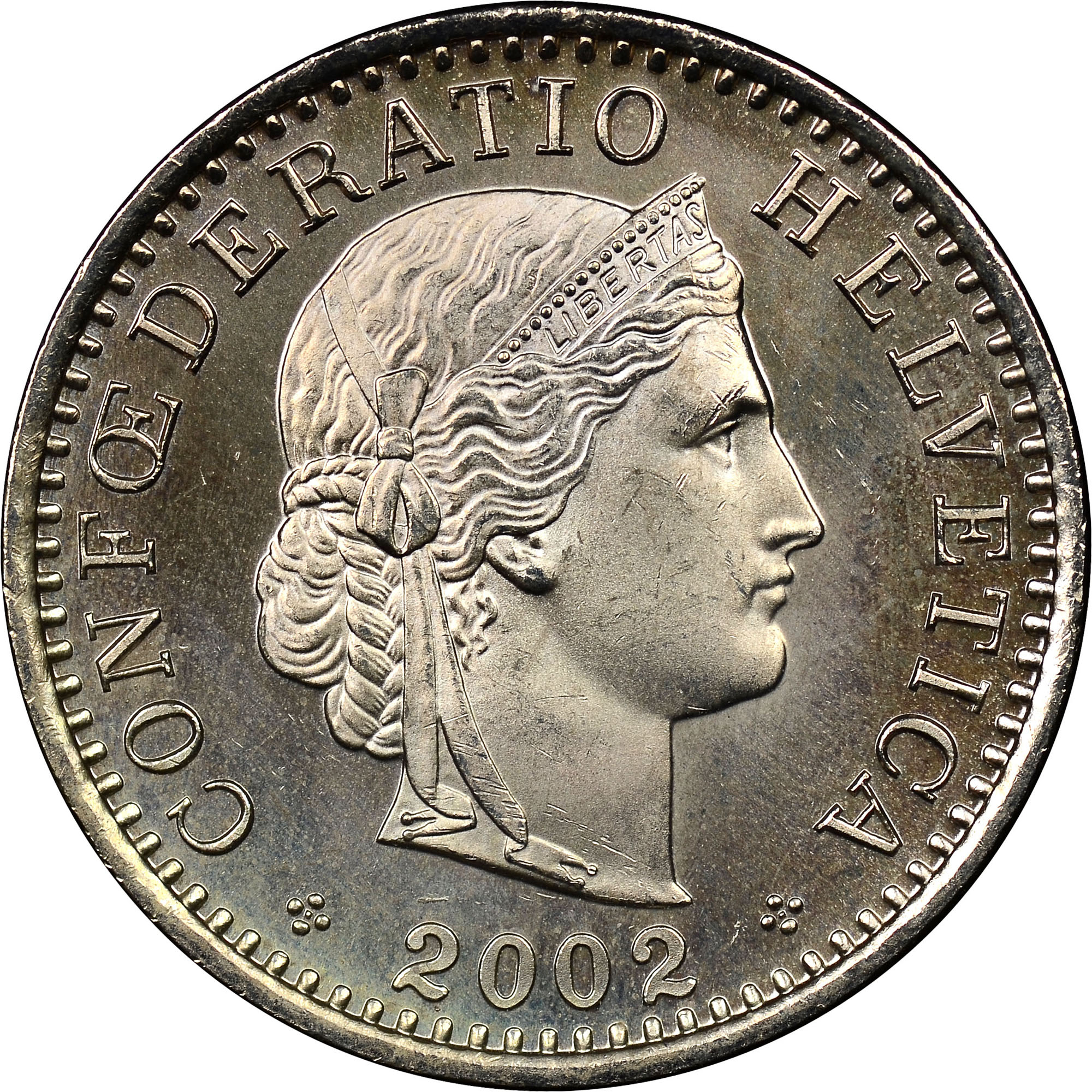 Coin Chart: 1939-2012 Switzerland 20 Rappen KM 29a Prices & Values