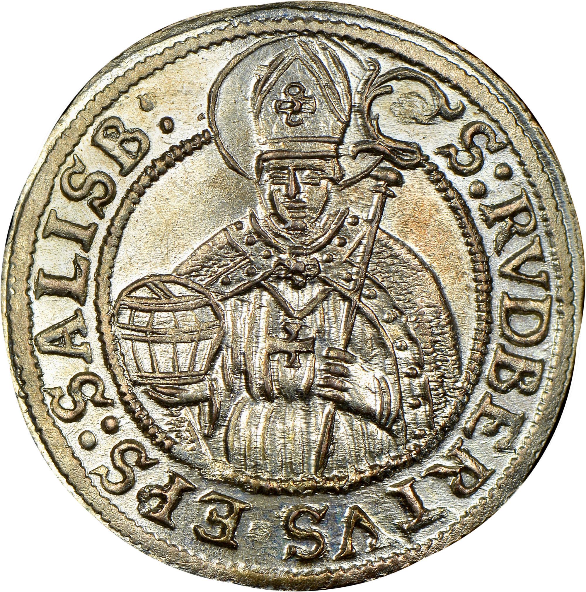 1687-1692 Austrian States SALZBURG 3 Kreuzer reverse