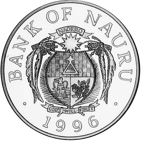 Nauru Dollar obverse