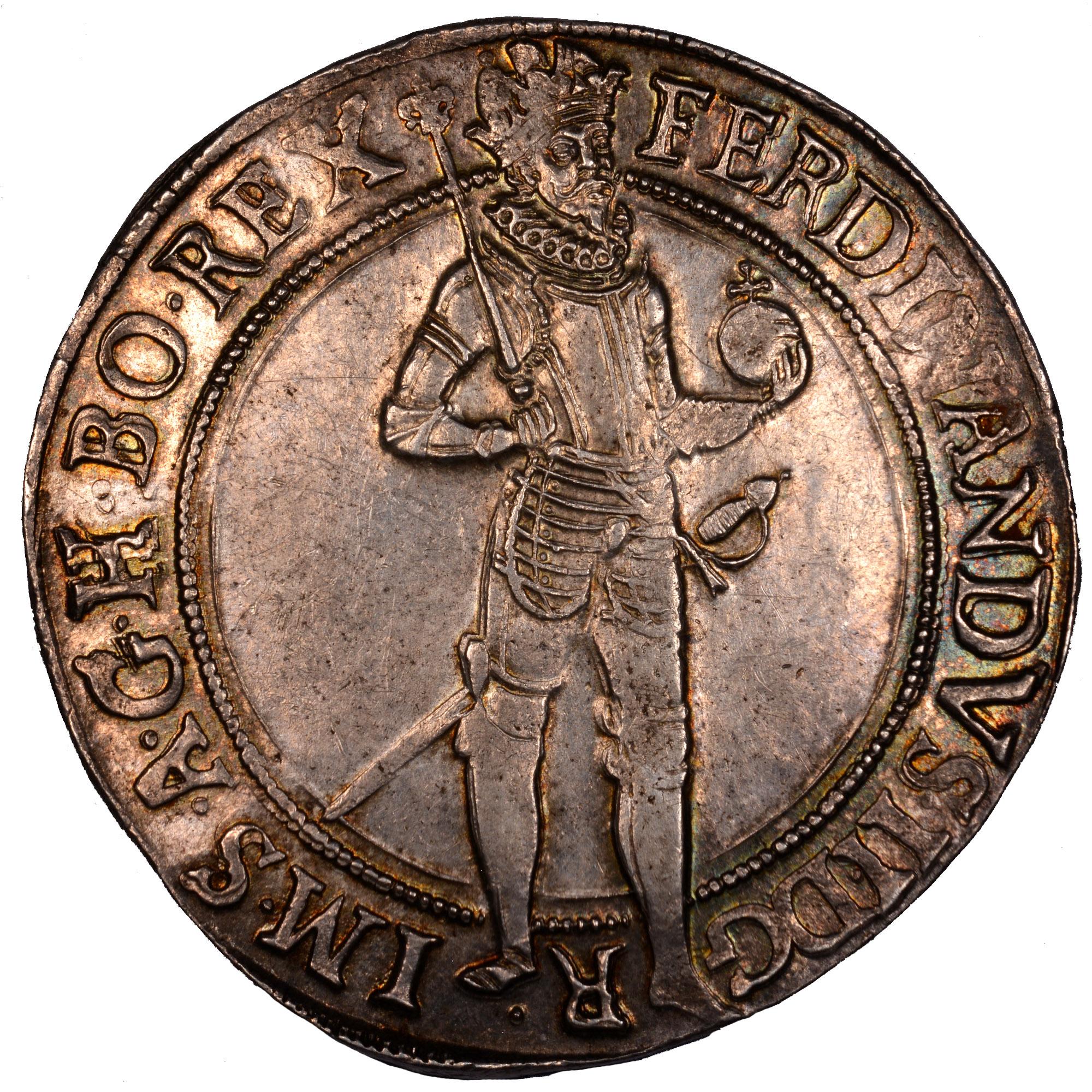 1623-163Z Bohemia Thaler obverse