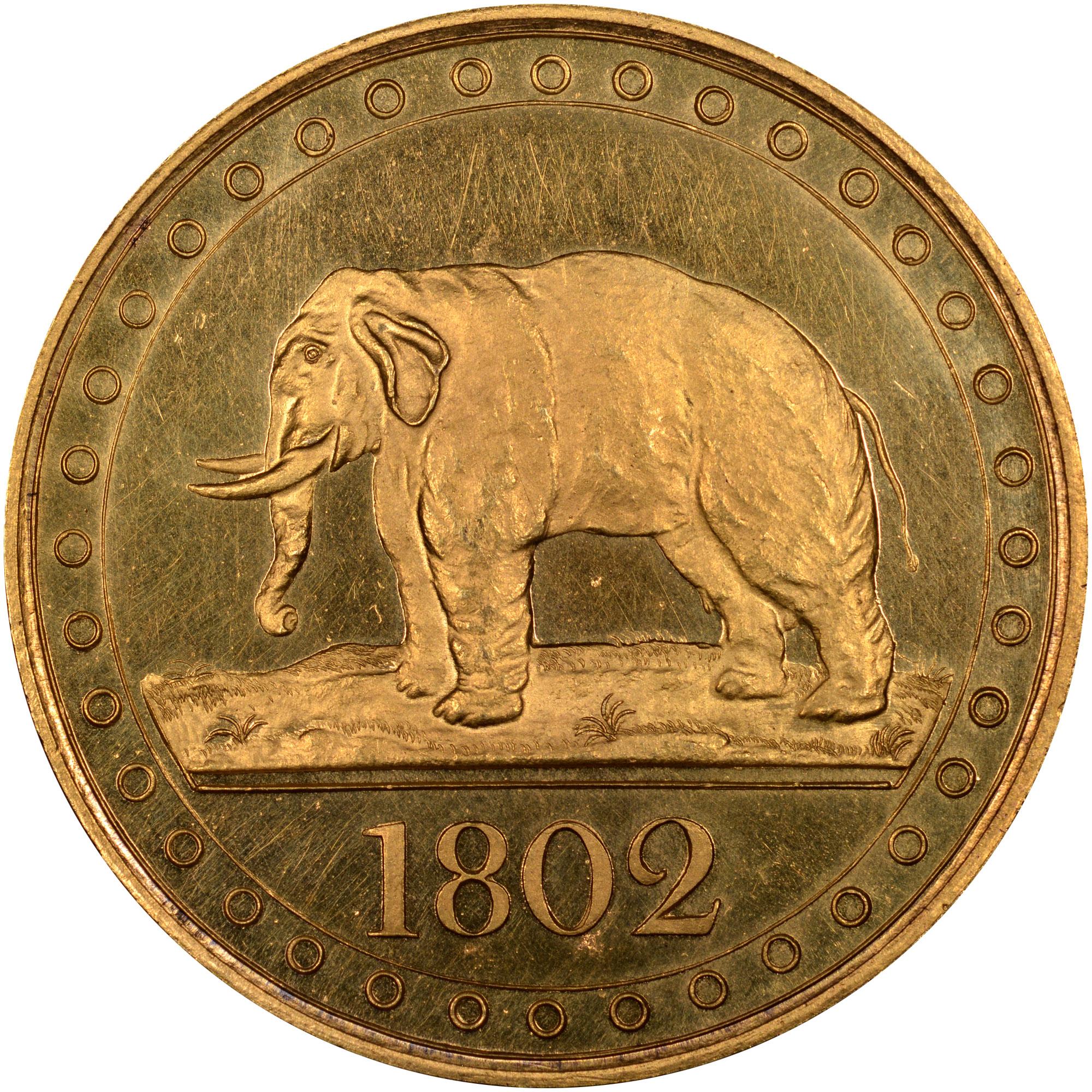 1802-1804 Ceylon 1/48 Rixdollar reverse