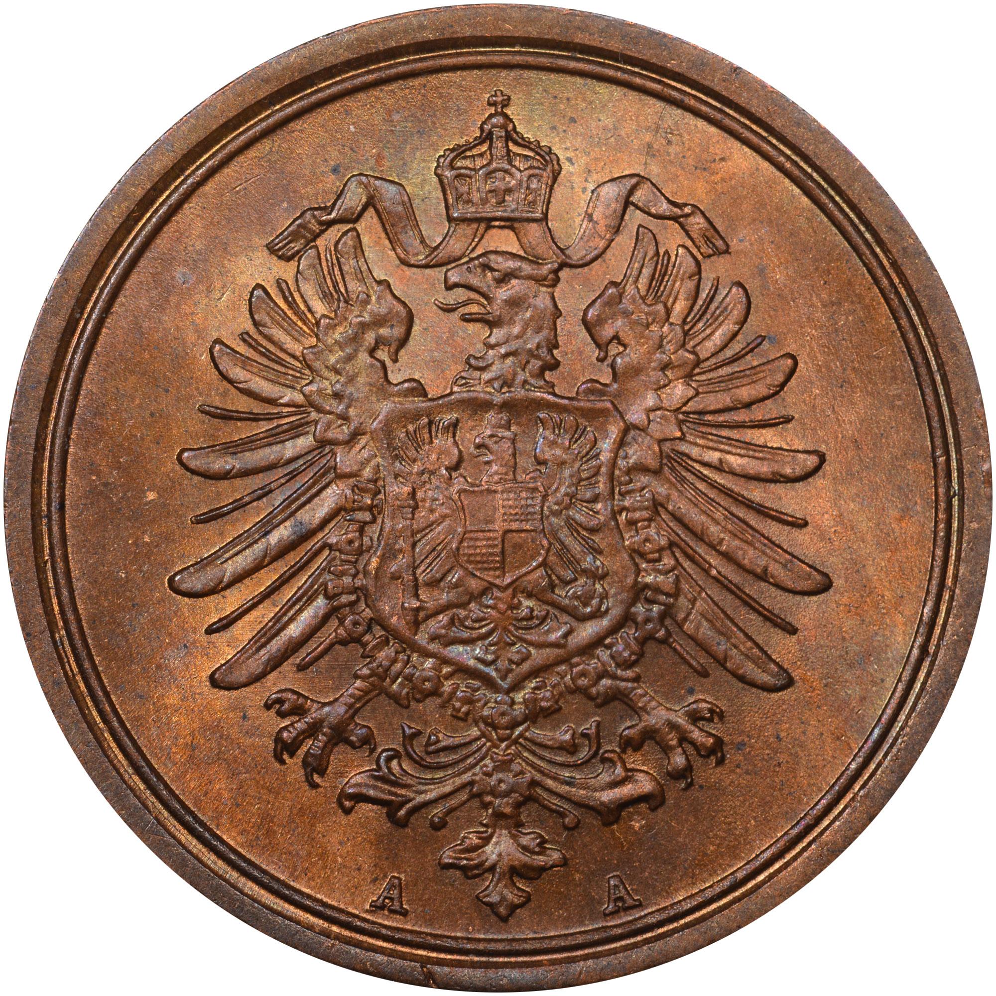 Germany - Empire Pfennig obverse