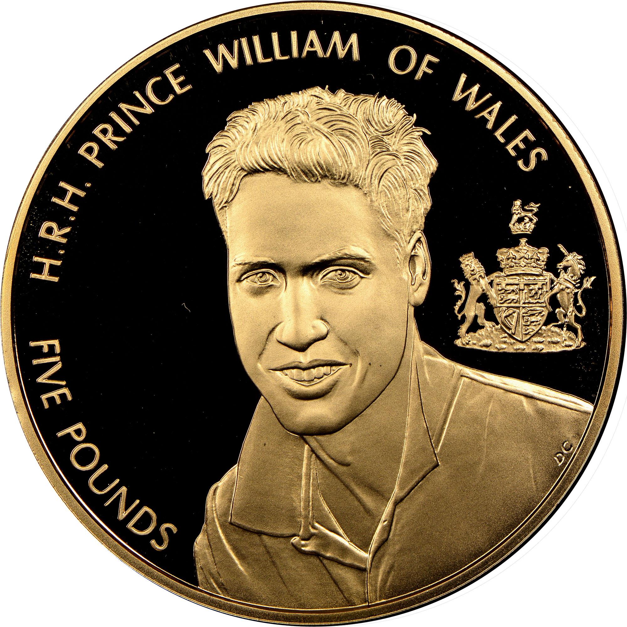 2003 Alderney 5 Pounds reverse