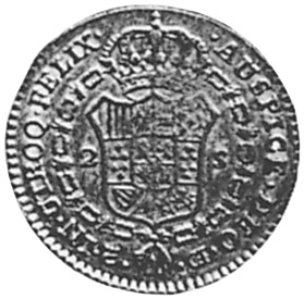 Spain 2 Escudos reverse