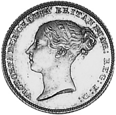 Great Britain 6 Pence obverse