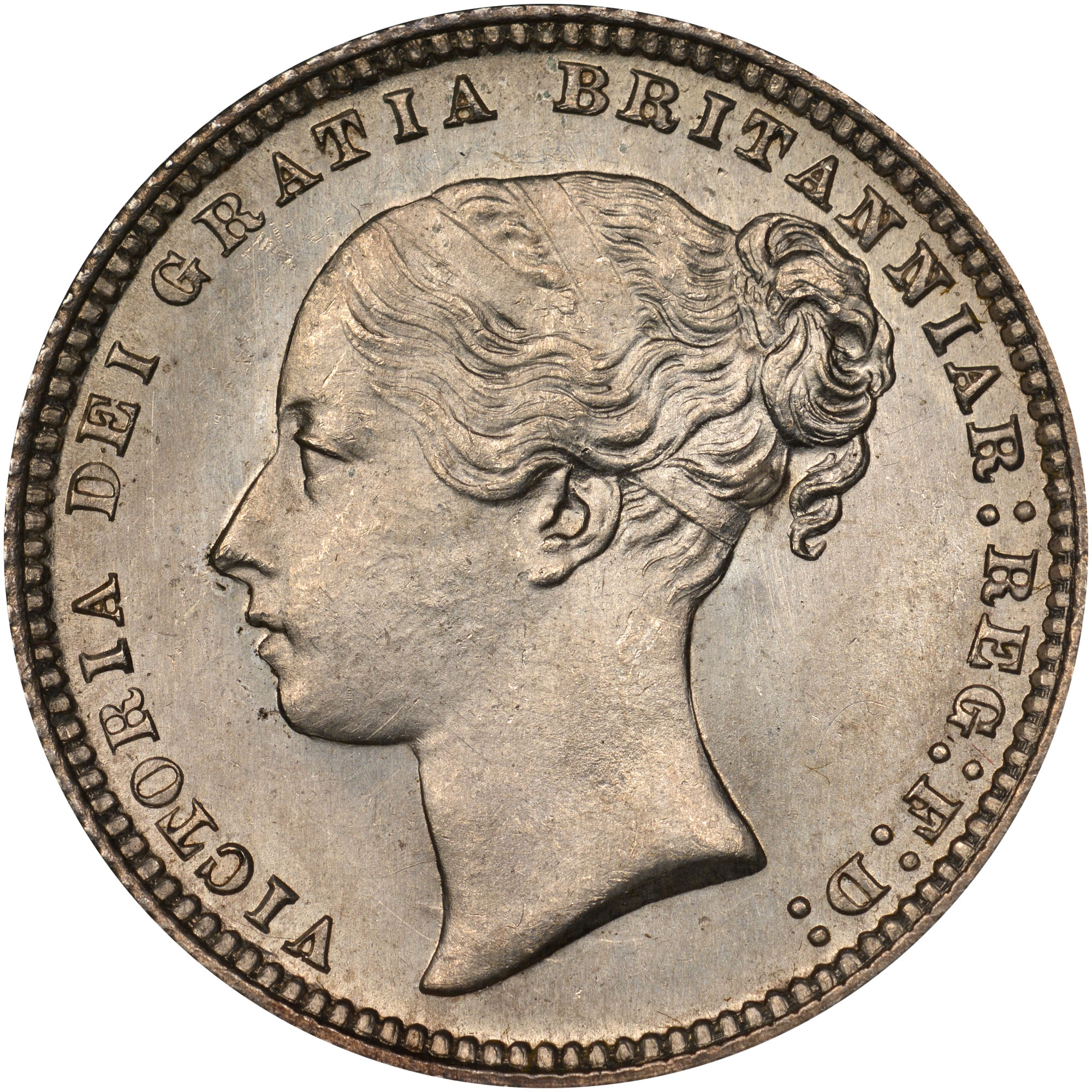 Coin Chart: 1867-1879 Great Britain Shilling KM 734.2 Prices & Values