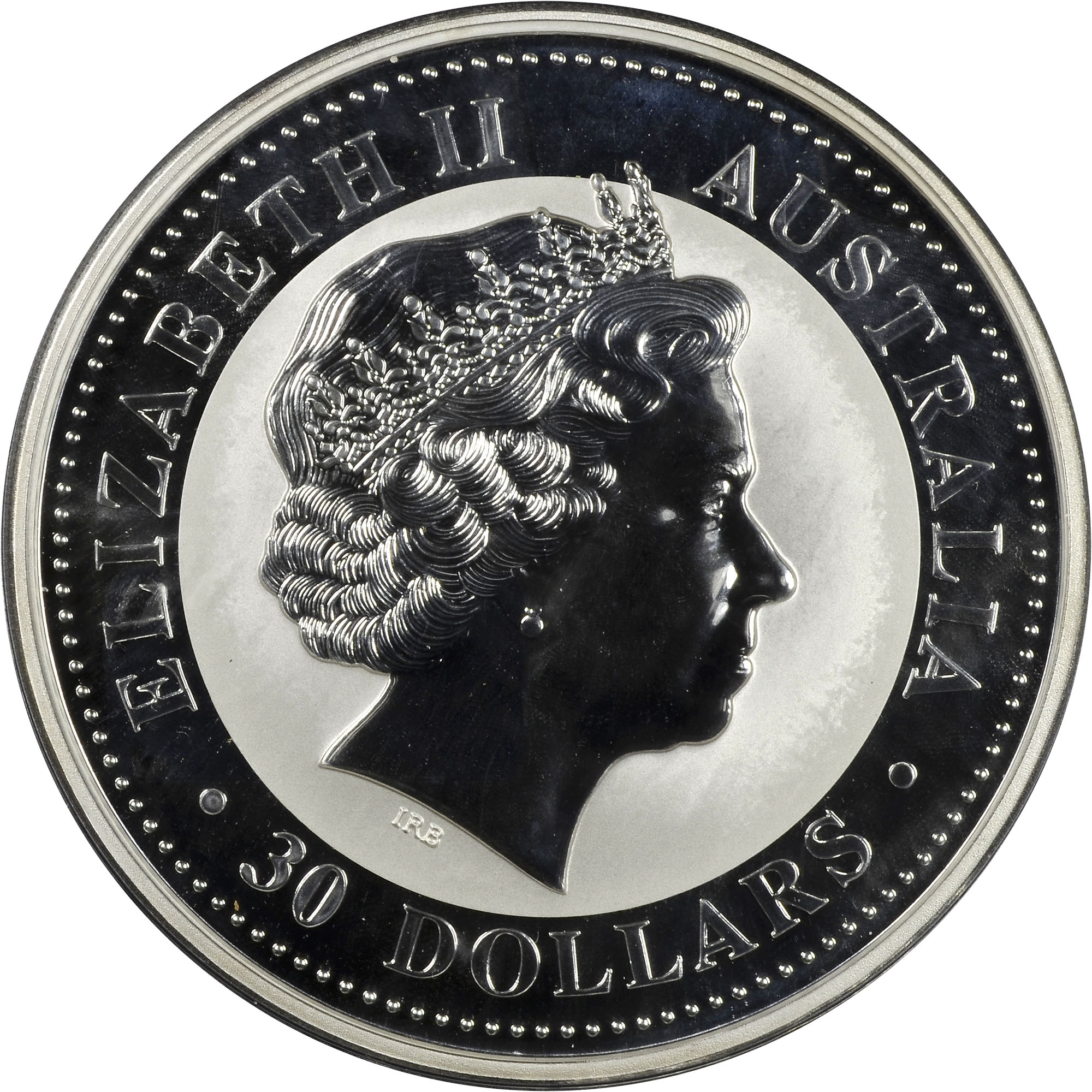 2004 Australia 30 Dollars obverse