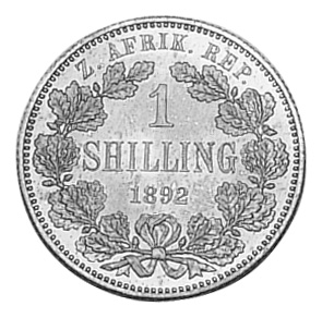 South Africa Shilling reverse