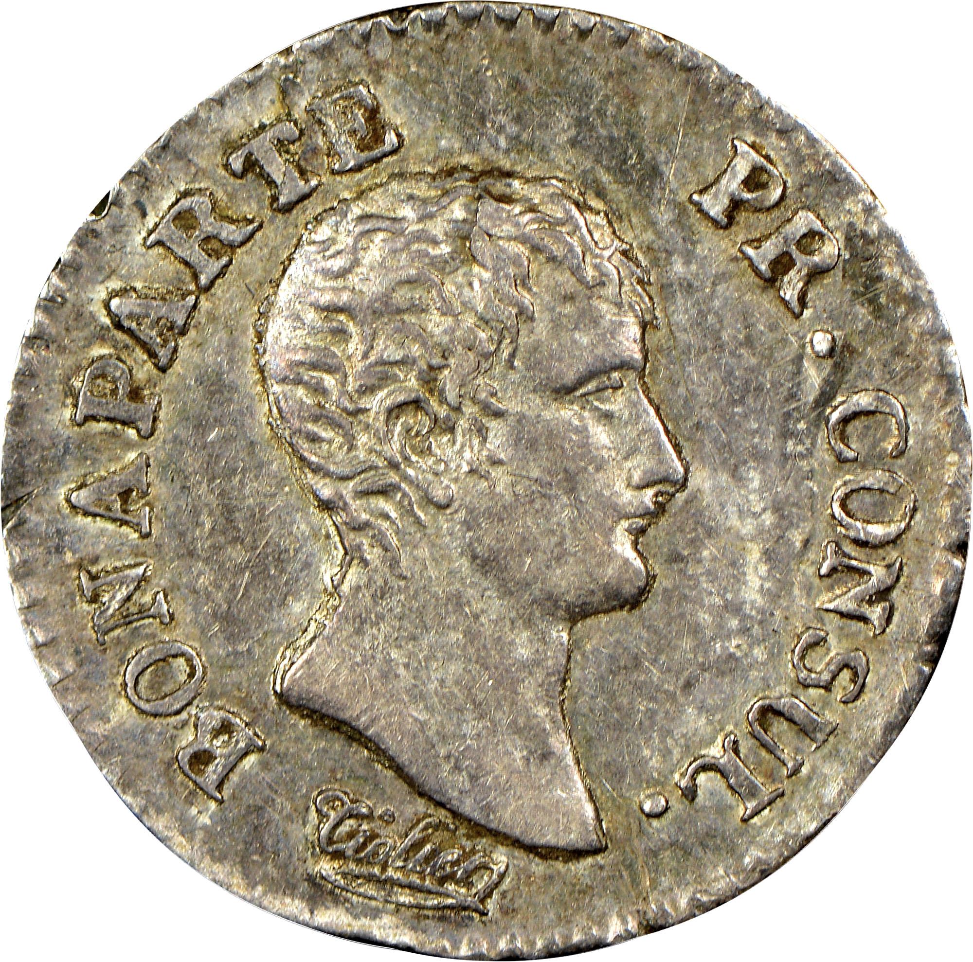 France 1/4 Franc obverse