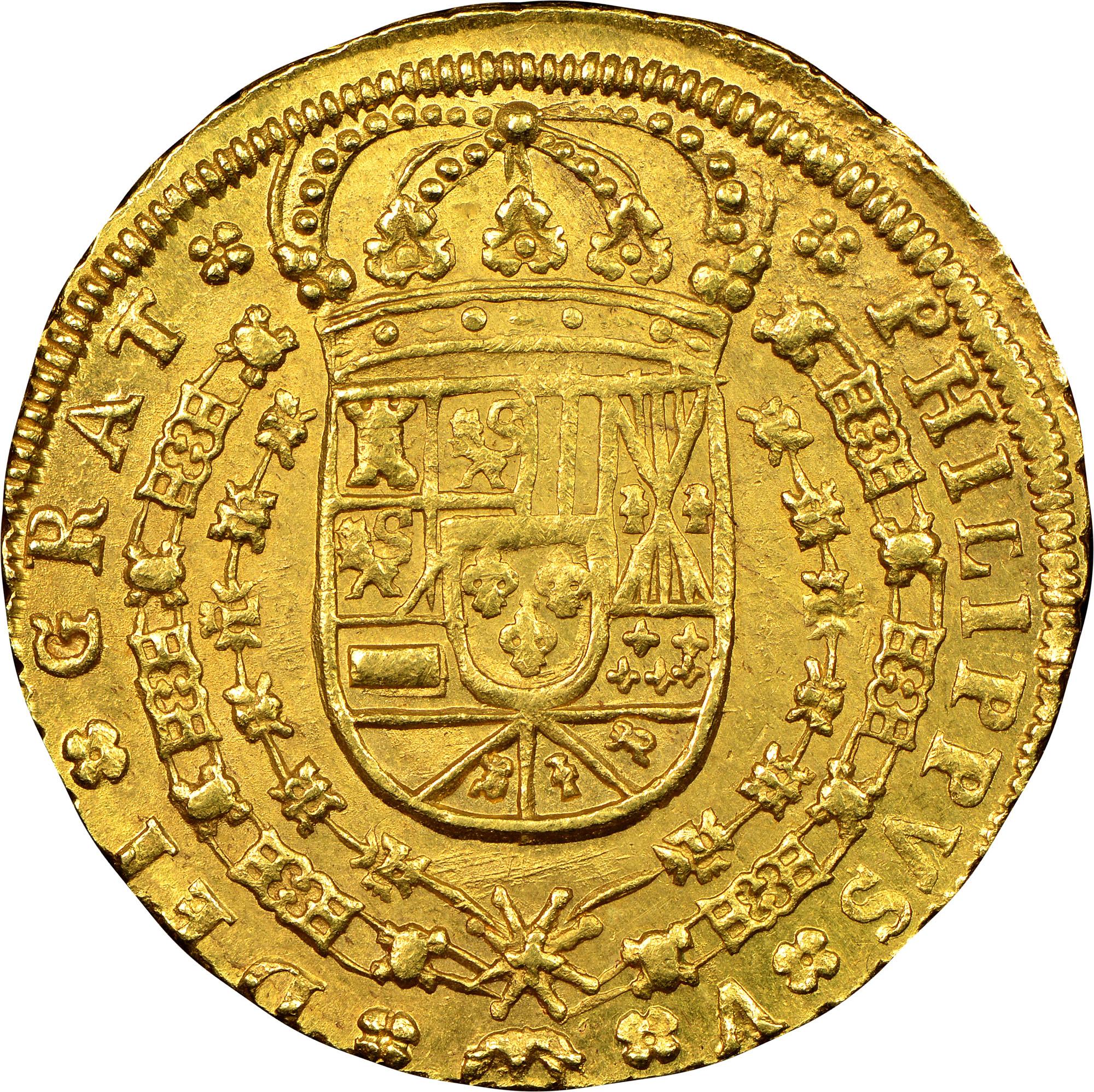 foto de Spain 8 Escudos KM 260 Prices & Values   NGC