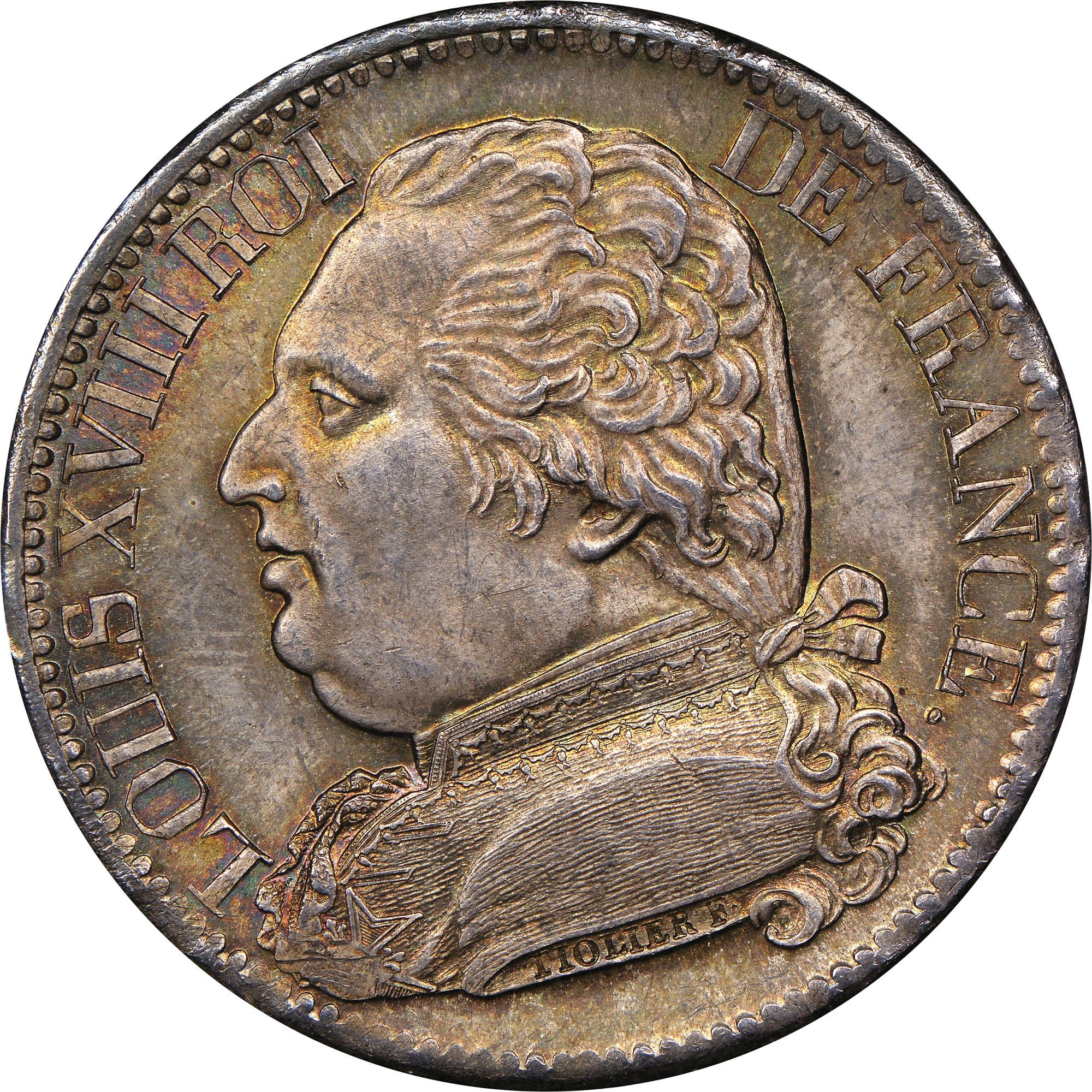 France 5 Francs obverse