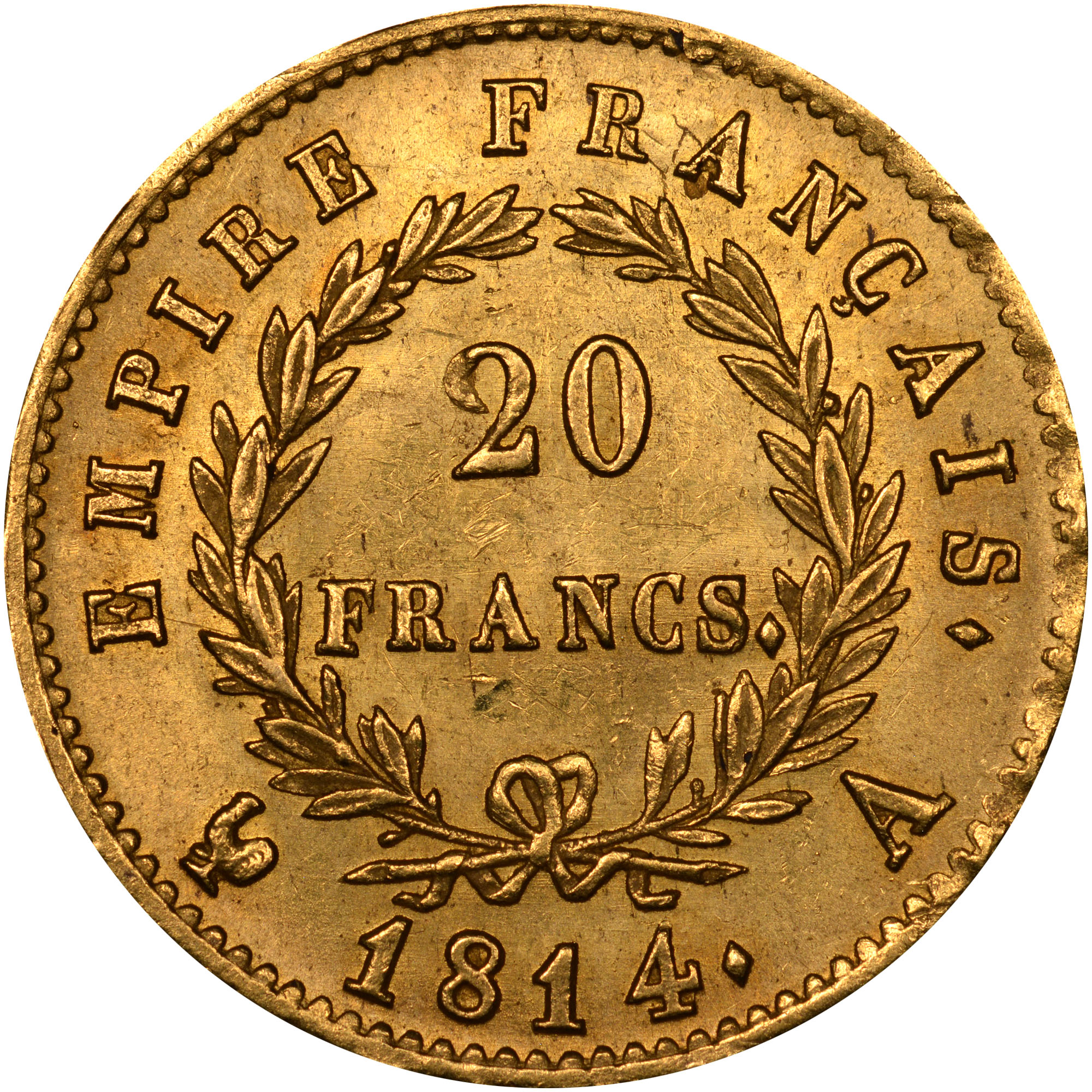 France 20 francs km 695 1 prices values ngc for France francs