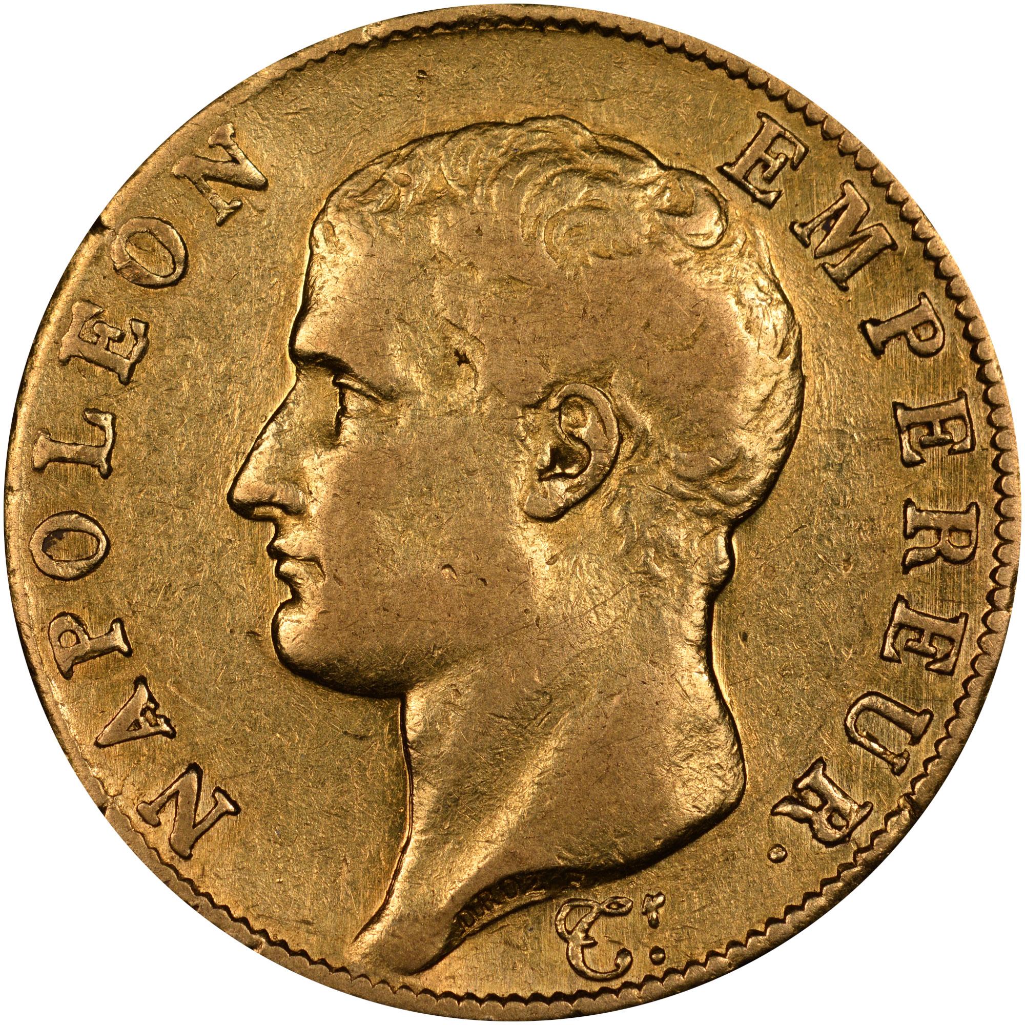 France 40 Francs obverse