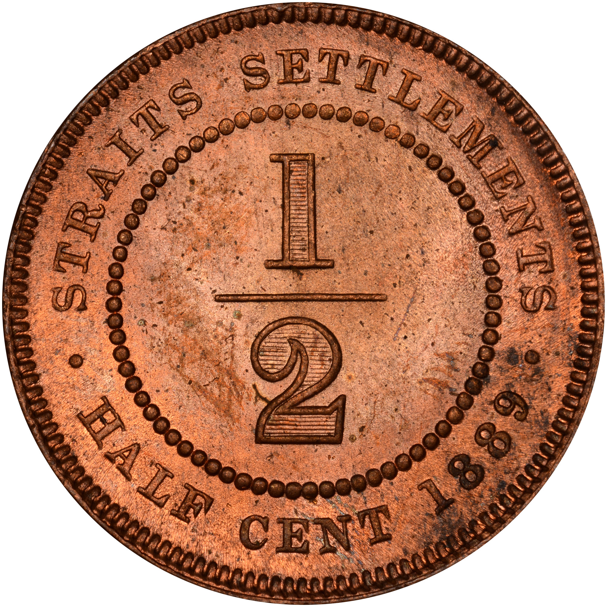 Straits Settlements 12 Cent Km 15 Prices Values Ngc