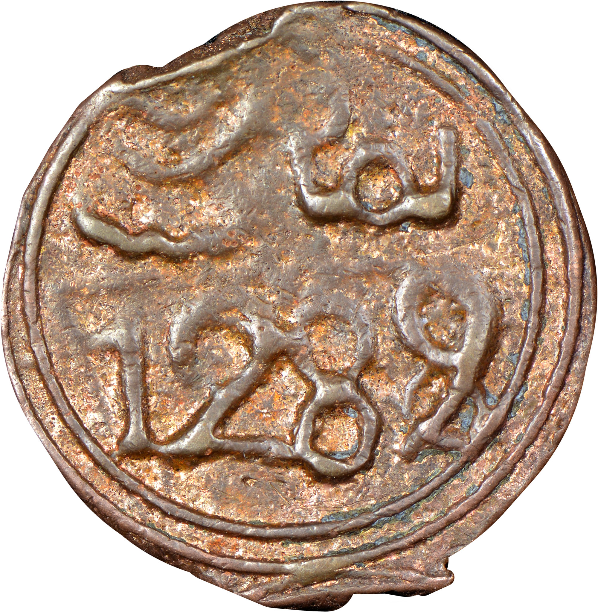Morocco 4 Fulus reverse