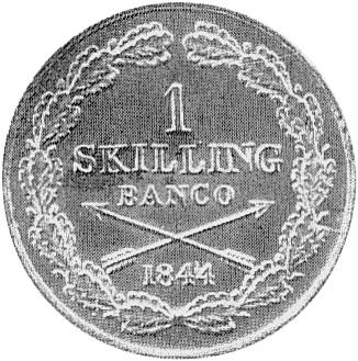 Sweden Skilling reverse