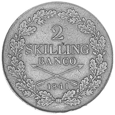 Sweden 2 Skilling reverse