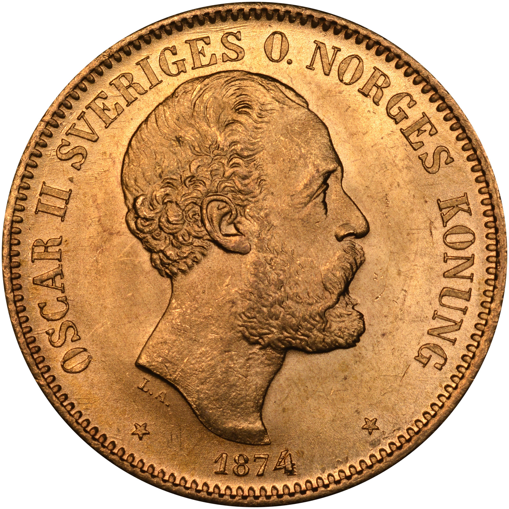 Sweden 20 Kronor KM 733 Prices & Values | NGC
