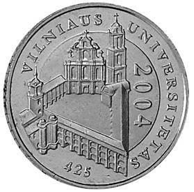 Lithuania Litas reverse