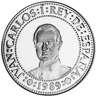 1989 Spain 500 Pesetas obverse