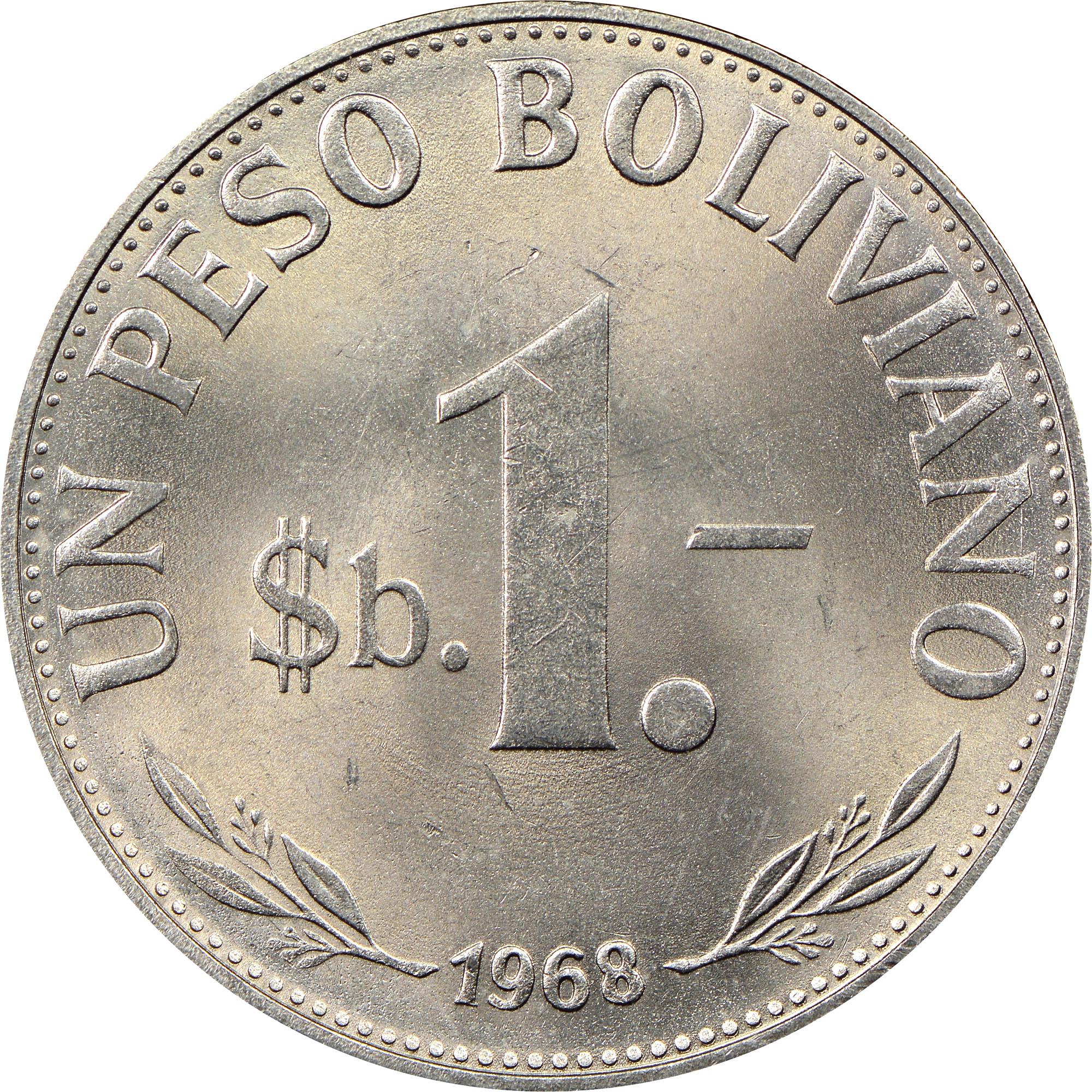 Bolivia Peso Boliviano reverse