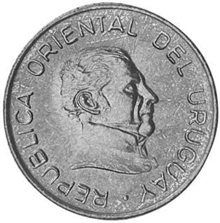 Uruguay 5 Pesos Uruguayos obverse
