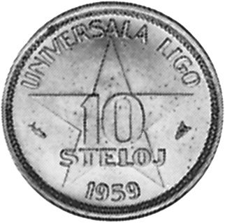 Esperanto 10 Steloj reverse